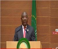 فيديو| رئيس جنوب أفريقيا يكشف عن برنامجه لرئاسة الاتحاد الإفريقي