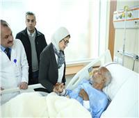 وزيرة الصحة للفريق الطبي بمستشفى إسنا: الرقابة صارمة على الخدمة