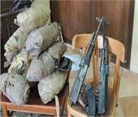 ضبط تشكيل عصابي يتاجر بالمخدرات والأسلحة في القليوبية