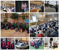 بدأت الدراسة| 22 مليون طالب في المدارس.. وقاعات المحاضرات بـ«الجامعات» كاملة العدد