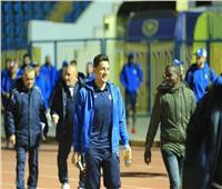 صور| فريق الإسماعيلي يصل ملعب المباراة استعدادا للزمالك