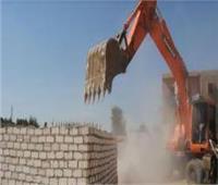 استرداد 100 فدان من أراضي أملاك الدولة في دشنا