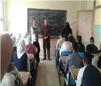 مدير تعليم الإسماعيلية يتفقد مدرسة الشهيد محمود نافع