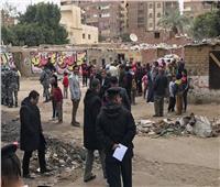 نائب محافظ القاهرة يتابع إزالة عشش المهاجرين
