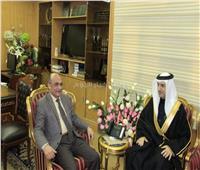 وزير العدل يلتقي السفير البحريني لبحث تعزيز التعاون بين البلدين