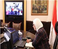 صور لمعسكر العزل.. ووزيرة الصحة تؤكد: لا يوجد أي حالة كورونا في مصر