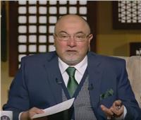 فيديو  خالد الجندي: البعض لديهم فهم خاطىء للصلاة والتسليم على النبي