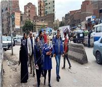 صور  جولة لنائبة محافظ القاهرة بأحياء المنطقة الجنوبية
