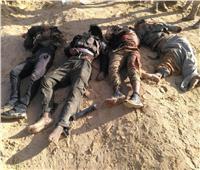 ننشر أول صور لمنفذي الهجوم الإرهابي بشمال سيناء عقب القضاء عليهم
