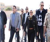 وزيرة الصحة تتفقد أعمال التطوير بوحدة صحة أسرة «ابو صويرة»