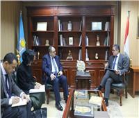 وزير الآثار يستقبل مدير مكتب الإقليمي لليونسكو لبحث التعاون المشترك