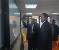 نائب محافظ القاهرة يتفقد المركز التكنولوجي بحي الزيتون