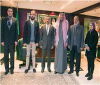 الملحق الثقافي السعودي يستقبل نائب رئيس جامعة السويس