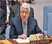 الرئيس الفلسطيني يجدد رفض خطة السلام الأمريكية أمام مجلس الأمن
