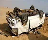 إصابة 5 إثر انقلاب سيارة في ترعة بقنا