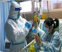 فيديو يظهر كيفية توصيل الأطعمة لمرضى كورونا بمستشفى في ووهان