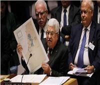 عباس «ملوحًا بخريطة خطة ترامب»: فلسطين تبدو كـ«قطعة جبن سويسري مفتتة»