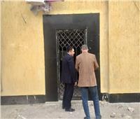 نائب محافظ القاهرة يتفقد مكتب تموين حي الأميرية
