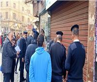 محافظ القاهرة: استرداد 75 محلا ووحدة إدارية بجراجي الأوبرا والعتبة