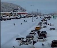 فيديو|عاصفة ثلجية غير مسبوقة تضرب مناطق شمالي إيران