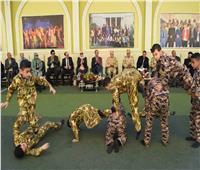 عروض عسكرية وندوة تثقيفية بمدرسة ببني مزار في المنيا