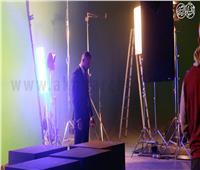 خاص| صور..«بوابة أخبار اليوم» داخل كواليس برنامج أحمد فهمي الجديد