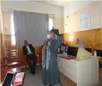 قوافل متكاملة لجامعة المنوفية بالقرى النائية للتوعية بمخاطر الإصابة بـ«كورونا»