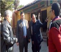 نائب محافظ القاهرة يتفقد مكتب تموين حي الساحل