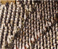 خوفا من انتشار كورونا.. حفل زفاف جماعي بالكمامات في كوريا