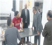 فى زيارة مفاجئة.. «نائب رئيس جامعة بنها» يتفقد المدينة الجامعية