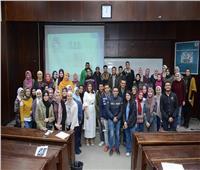 نور الزيني تتحدث لطلاب اقتصاد وعلوم سياسية القاهرة عن مهارات ووظائف المستقبل