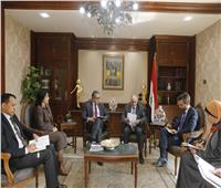 وزير السياحة والآثار يلتقي سفير قبرص