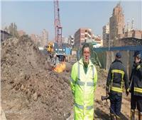 صور  «مش انفجار».. محافظة القاهرة تكشف تفاصيل السيطرة على كسر بخط غاز في المطرية