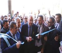 بالصور.. سامح عاشور فى المنيا لافتتاح مقر نقابة المحامين