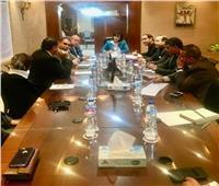 اجتماع تنسيقي مع الوفد المصرى المشارك في معرض بلجراد الدولي للسياحة ITF