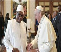 البابا فرنسيس يستقبل رئيس جمهورية مالي