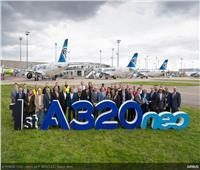 شاهد| مصرللطيران أول مشغل لـ«A320 Neo» في أفريقيا والشرق الأوسط