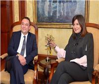 مكرم تستقبل نائب وزير خارجية اليونان لبحث استعدادات «إحياء الجذور»