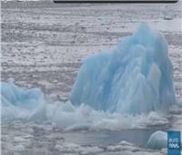 شاهد| ذوبان الأنهار الجليدية يهدد كوكب الأرض
