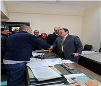 جولات مكثفة لرئيس مصلحة الضرائب بالمأموريات القاهرة والجيزة والإسكندرية