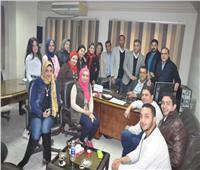 صور  إقبال كبير من المواطنين على مبادرة شفاء «الحرية المصري» بالغربية