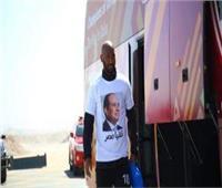 مرتضى منصور: لاعبو الزمالك ارتدوا قمصانا تحمل صورة «السيسي» في قطر
