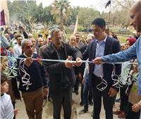 رئيس مدينة الخانكة يفتتح أعمال التجديدات بدار المسنين الجديدة