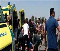 مصرع ٦ وإصابة آخر في تصادم مروع على الطريق الغربي بسوهاج