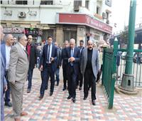 صور  وزير التنمية المحلية ومحافظ الجيزة يفتتحان أعمال تطوير نفق مشاه ميدان الجبزة