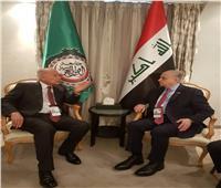 أبو الغيط يبحث مع وزير خارجية العراق تطورات أوضاع بغداد
