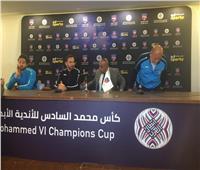 الفرنسي جوزيه: مواجهة الرجاء صعبة وقادرون على حسم التأهل من مباراة الذهاب