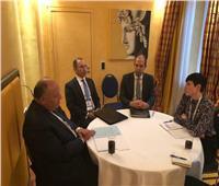 وزير الخارجية يلتقي نظيره النرويجي على هامش مؤتمر ميونخ للأمن