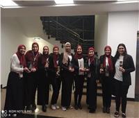 عميد «علوم القاهرة» يهنئ طلاب الكلية الفائزين بمسابقة SOLE