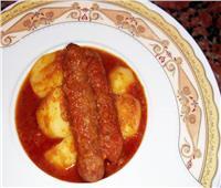 طبق اليوم.. «كفتة الأرز المصرية بالصلصة والبطاطس»